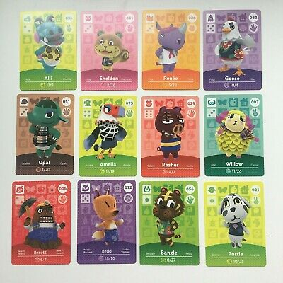 Animal Crossing Amiibo Card | Series 1 | Choose your own | 001 to 100 | NEW