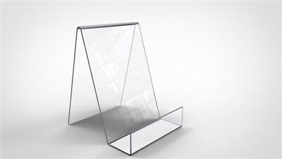 1 of Medium Clear Perspex Acrylic Plastic Book Plate Display Stand Holder