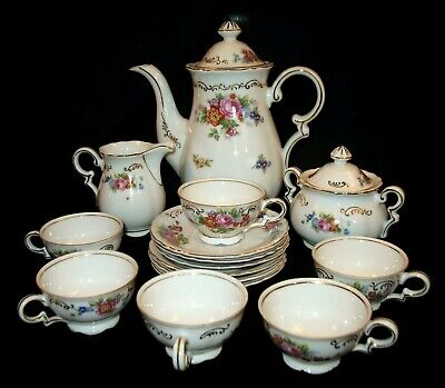 Estate Find SGK. CHINA Made In Occupied Japan Small Tea Cups Server