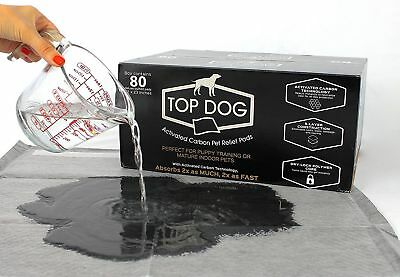 Top Dog ULTRA - Gigantic Deluxe Puppy & Dog Training Pad SIZE LARGE 80ct Pads