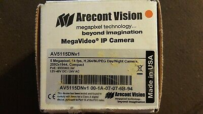 DRIVERS UPDATE: ARECONT VISION AV2115DN IP CAMERA