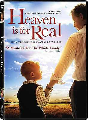 SEALED - Heaven Is For Real DVD NEW Based On A True Story SHIPS NOW !