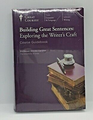 Teaching Co Great Courses DVDs    BUILDING GREAT SENTENCES       new & sealed