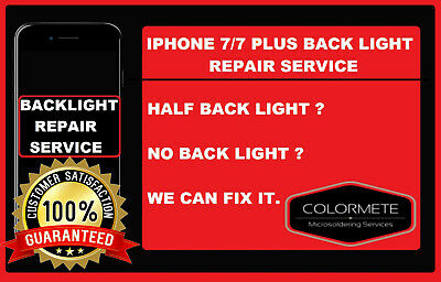 Repair Service For Iphone 7 / 7 Plus No Backlight / No Display