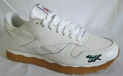 0aafcc2aae24d REEBOK CLASSIC LEATHER 3AM DV4707 White Red Gum Mens US 9.5 NEW ...