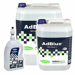 Greenchem AdBlue 10 Litre 10L Free Postage Ad Blue with Free Pouring Spout