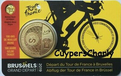 Belgie 2019 2,50€ Coincard  - Tour de France Version Française FR