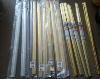 Gripperod and carpet cover strips
