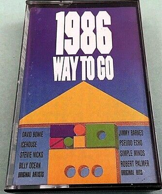 Various - 1986 Was To Go - Bowie, Icehouse, Hoodoo Gurus - 1986 Oz Cassette