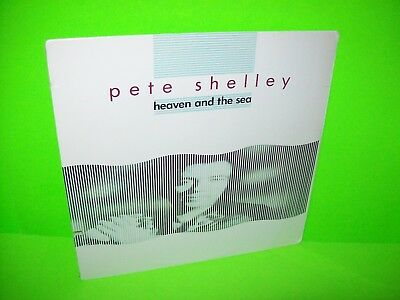 Pete Shelley Heaven And The Sea SEALED Vinyl LP Record New Wave Synth Buzzcocks