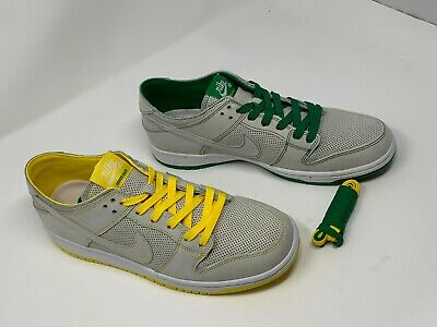 premium selection c88ee f115f NIKE SB ZOOM Dunk Low Pro Decon QS Ishod Wair White Verde Yellow ...