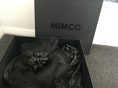 Mimco black headband fascinator