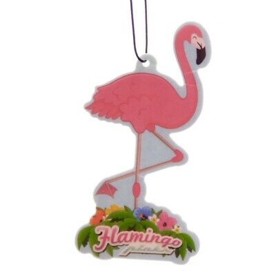 "Pack Of 3 - ""Pink Flamingo"" In Car  Scented Air Fresheners"