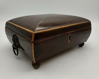 Antique Regency Rosewood Box circa 1815