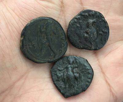 Kushan Empire Lot Of 3 Coins.............