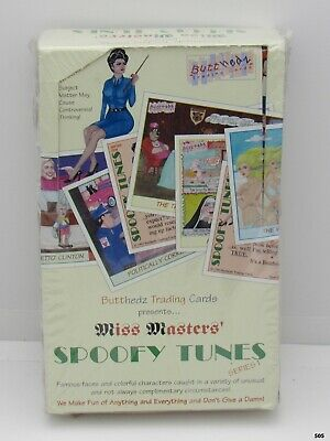 Spoofy Tunes Card Box 36 Packs Butthedz 1993