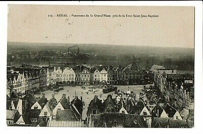 CPA - Carte Postale - FRANCE - ARRAS - Panorama de la Grand Place -1913 VM2028