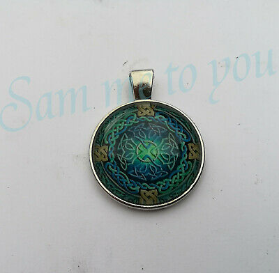 CELTIC BANDS, Pendant Necklace or Key Ring CELTIC CROSS Jewellery UK Fast P&P