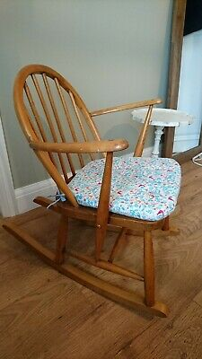 Ercol Vintage Child's Winsor Rocking Chair