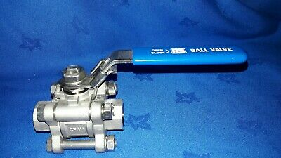 Quality High Pressure Ball Valve 1000 Wog Cf8M