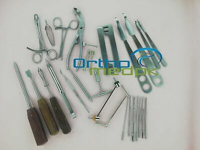 Small Fragment Instruments Orthopedic Surgical Instruments 30 Pcs Set A+ Quality
