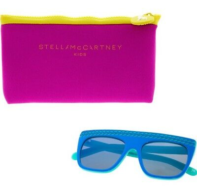NWT $153 Stella McCartney Kids x Kering Sunglasses SK0002S 47-16-125