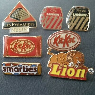 LOT pin badge pin's BONBONS CHOCOLATS sweets chocolate food marque