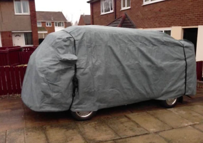 VW Type 2 Camper Van 4 LAYER Stormforce Outdoor Car Cover with XL Over Strap Kit