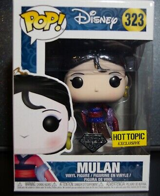 Funko Pop Disney - Mulan - Hot Topic - Diamond Edition