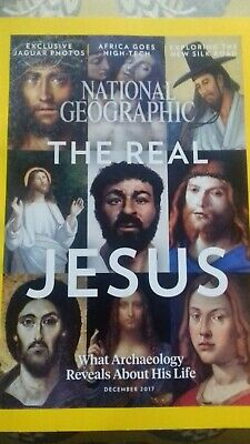 National Geographic December 2017 The Real Jesus, Jaguars, Serbia