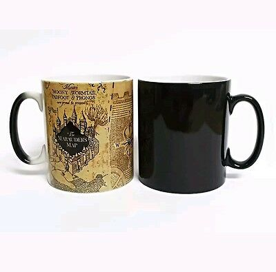 Tazza  Termosensibile Mappa Del Malandrino Harry Potter Marauder's Map #1