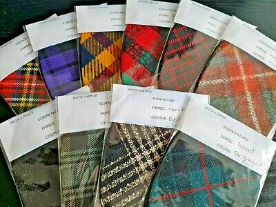 Stunning Lightweight Oval Elbow Patches / Trimmings  In Fantastic Colors