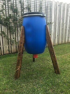 Pheasant/Game Feeder 25Kg with Wrights Perforated Feeder Nozzle