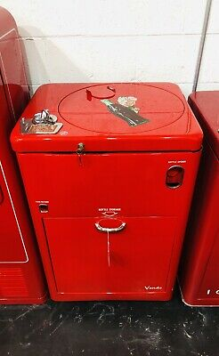1 Original 1950s Antique COKE MACHINE Coca Cola RESTORED Coin Op Vending VMC A23
