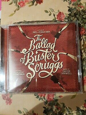 The Ballad of Buster Scruggs CD Soundtrack (2018) **Brand New**