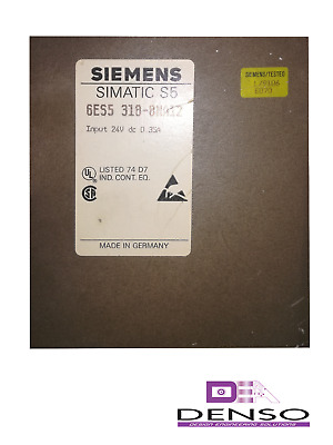 New Original Open Package Noop Siemens Simatic S5 6Es5318-8Ma12 6Es53188Ma12