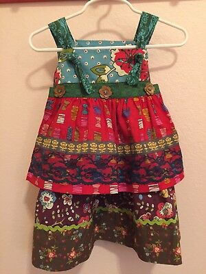 18m Matilda Jane Crafty Knot Dress Paint by Numbers Fall 2013