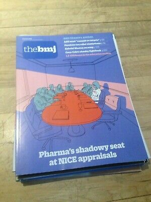 The BMJ 19th January 2019 Pharma's shadowy seat at NICE appraisals