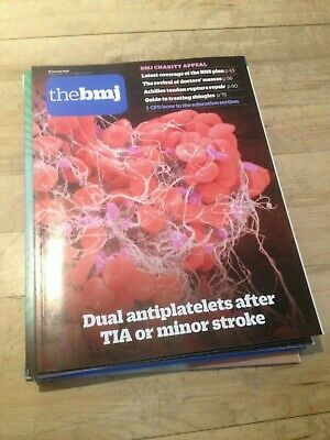 The BMJ 12th January 2019 Dual antiplatelets after TIA or minor stroke