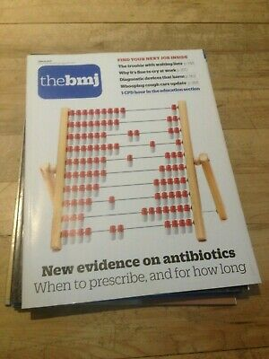The BMJ 2nd March 2019 New evidence on antibiotics