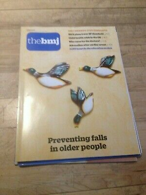 The BMJ 16th March 2019 Preventing falls in older people