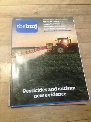 The BMJ 23rd March 2019 Pesticides and autism: new evidence