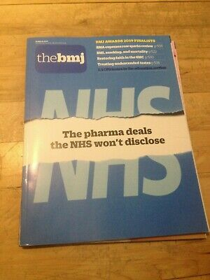 The BMJ 30th March 2019 The pharma deals the NHS won't disclose