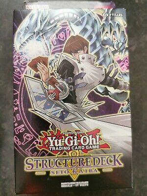 YuGiOh Seto Kaiba Structure Deck SDKS UNL Edition New Sealed