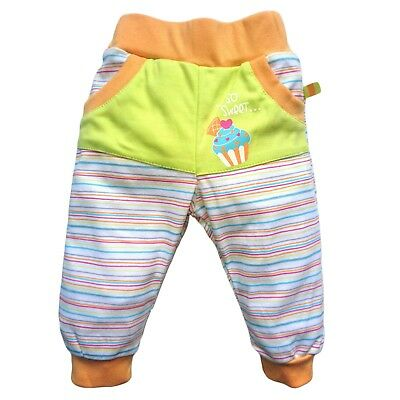Baby Kids Girls Trousers Joggers Pants 100% COTTON3-6/6-9/9-12/18-24m 2-3Y