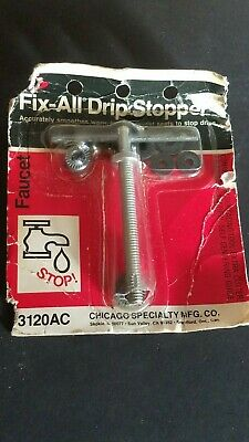 NEW SEALED 3120ac Chicago Specialty Drip Stopper Faucet Seat Tool