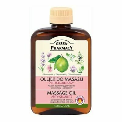 Green Pharmacy Massage Oil Anti Cellulite Smoothes and Elastizies the Skin 200ml