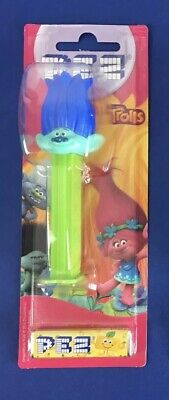 New RARE sealed new Trolls movie collectable PEZ dispenser Branch candy fun toy