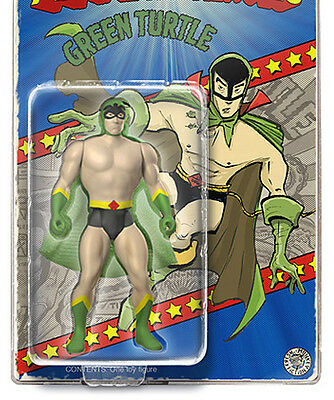 Marvel Vintage Secret Wars style GREEN TURTLE Action Figure 4 inch