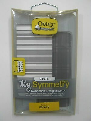 OtterBox Inserts For Symmetry Series 2 Cases - iPhone 6/6s Gray Plaid/Stripe